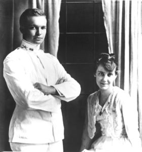 Dwight Eisenhower married Mamie Geneva Doud, July 1, 1916