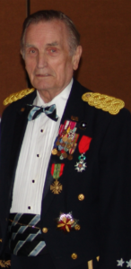 General Roberts served as Society President and later Chairman