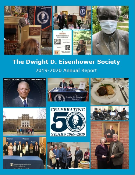 Dwight D Eisenhower Society Annual Report for 2019-2020