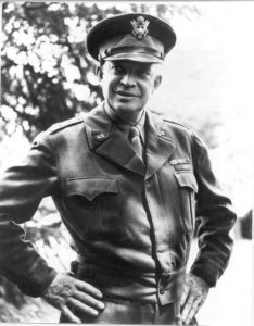 General Dwight D. Eisenhower, France, 1944