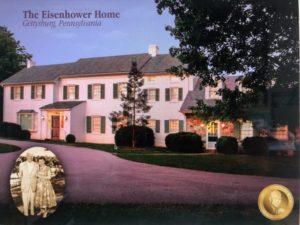Membership Gift Choice: Eisenhower Home Print