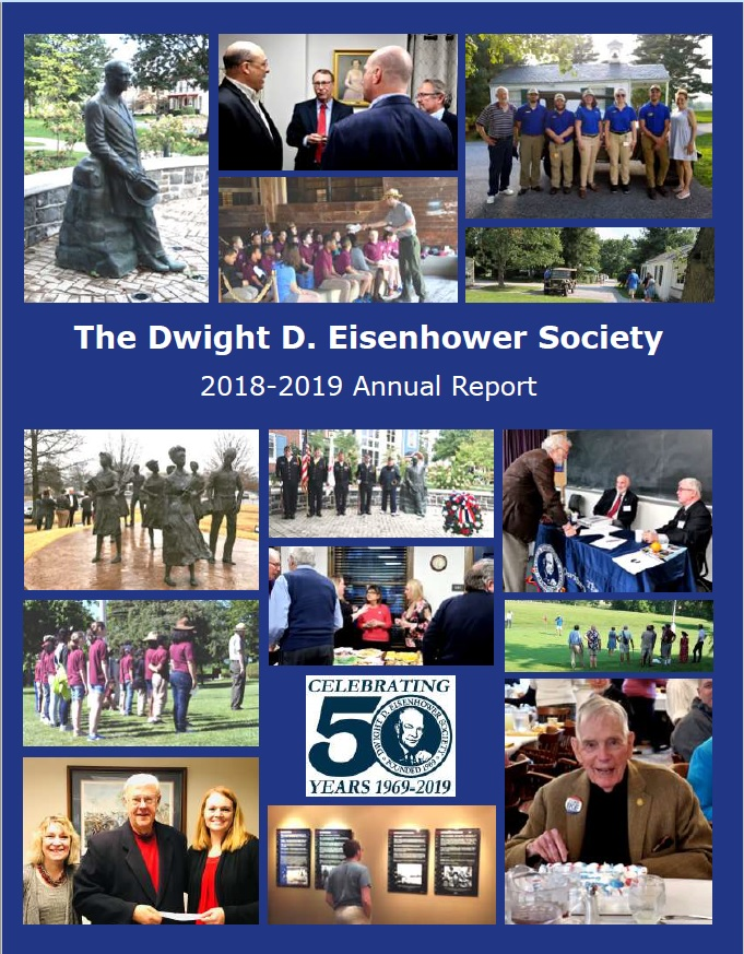 Picture of the Dwight D. Eisenhower 2018-2019 Annual Report