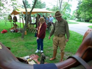 Great War Day - Saddle Display
