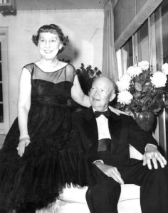 Mamie and Ike Eisenhower Enjoy a Night Out