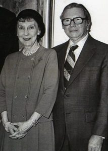 Mamie Eisenhower and Attorney Charles Wolf