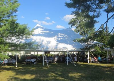 Perfect weather and setting for the 2017 Eisenhower Society picnic