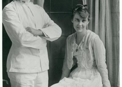 The Eisenhowers married July 1, 1916
